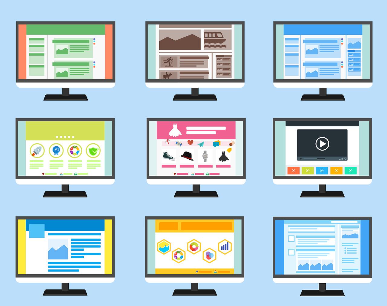 Get Hundreds of Website Templates for Free
